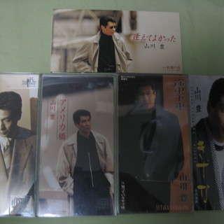CD     山川 豊    昔のシングル盤
