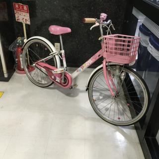 浦安から!軽整備済み!女の子用 子供用自転車