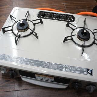 リンナイ LPガス用 ガステーブル DCM01BEL 16年製 中古品