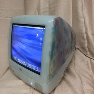 iMac 2001年製 Flower Power DVD-RW