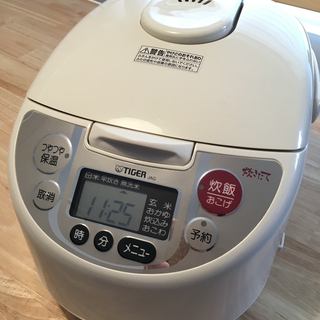 タイガー 炊飯器  5.5合炊き マイコン炊飯ジャー JAG-H100