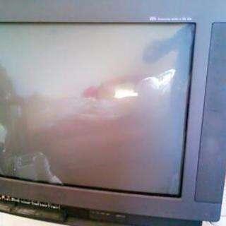SHARP 25型 ブラウン管テレビ
