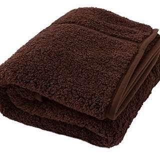 シングル毛布 3色2枚合わせ