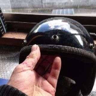 昔に使っていた、ジェットヘルメット