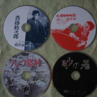 DVD  東映・東宝・松竹・角川  8作品