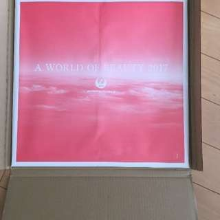 JAL The World of Beauty 2017 カレンダー