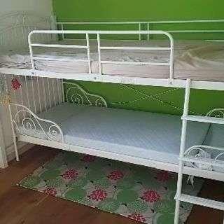 ホワイトロフトベッド