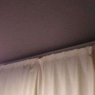 【値下げ】アイボリー色のカーテン