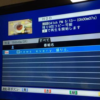 DVR-BZ130 容量2TB