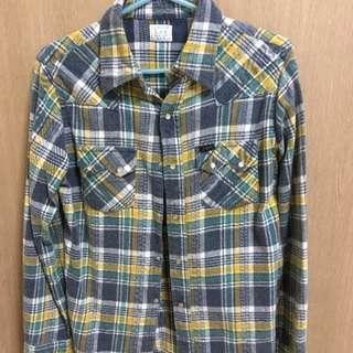 Lee チェックシャツ 良品 Mサイズ
