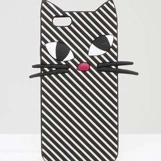 LULU GUINNESS 猫の iPhone6/6sケース