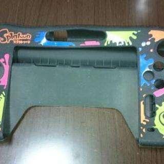 <交渉中>Wii U GamePad用カバー スプラトゥーン黒