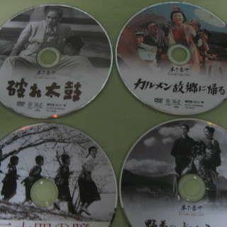 DVD   木下恵介監督作品   6枚