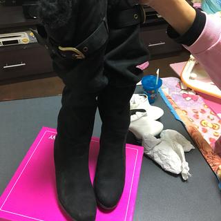 中古美品 サイズM ロングブーツ
