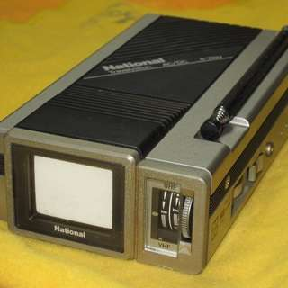 古いナショナル製 携帯テレビ