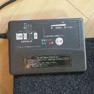 無印良品 ホットカーペット - 家電