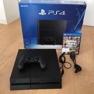 PS4 CUH-1200AB01 500GB 黒 gta5