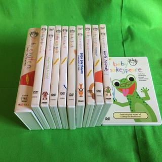 ベイビーアインシュタイン DVD10枚 VHS1 セット