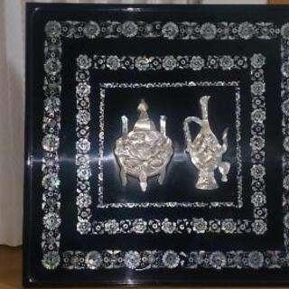 韓国の折り畳み式ローテーブル