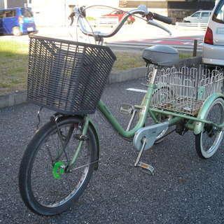 ●マルイシ 大人用三輪自転車  中古品●