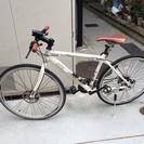 3×7段変速 ディスクブレーキ クロスバイク