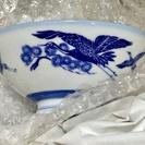 かなり値下げしました!【新品同様】和風の鶴の柄のお茶碗 1…