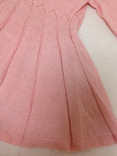 14e79755a9bc1 おしゃれな女の子 手作りワンピース(100%毛) 150まで (奥村) 東新宿の ...