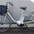 終了しました!中古!電動アシスト自転車 予備のバッテリー付