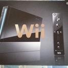 Wii黒の箱とヌンチャクだけ