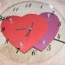 ☆ハートモチーフ掛け時計☆