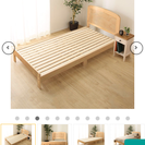 シングルベッド売ります。(マットレスつき