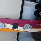 スノーボードとブーツ(ステップイン)