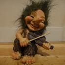 北欧の妖精の人形