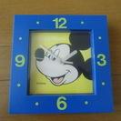 ミッキーマウス 掛時計・置時計