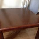 ローテーブル 茶色
