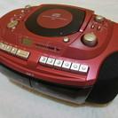 創和 ポータブルCDラジカセ GW-7 テープ・CDスピード調節付