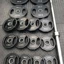 【売約済】ワイルドフィット オリンピックラバープレート計105k...
