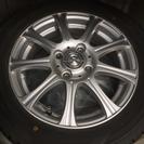 値下げ❗️155/65R14アルミホイール付スタッドレスタイヤ
