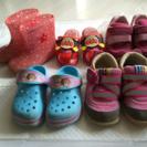 子ども靴5足セット14.0cm、14.5cm