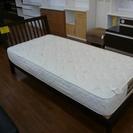 ニトリの木製シングルベッド