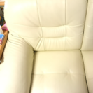 白いソファー