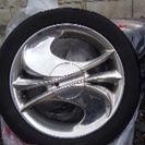 中古ホイル付タイヤ値下。
