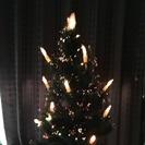 クリスマス 光るツリー 90cm! 箱付き