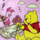 プーさんの毛布