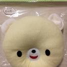【美品】西松屋 ベビー枕(パイルベアー)