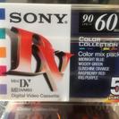 値下げ 200円 10巻 ミニデジタルビデオテープカセット