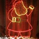 クリスマス ちょっと訳あり サンタクロースイルミネーション 92㎝