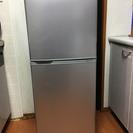 2ドアノンフロン冷凍冷蔵庫