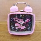 ピンクパンサー 置き時計 美品