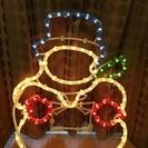 クリスマス STAR GLOW雪だるまチューブライト 49㎝